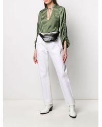 Zadig & Voltaire Green 'Twenty' Bluse mit lockerem Schnitt
