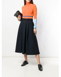 Societe Anonyme - Blue Travaille Skirt - Lyst