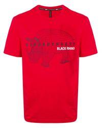 メンズ Neil Barrett Rhino Tシャツ Red