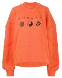 Ambush ロゴ スウェットシャツ Orange