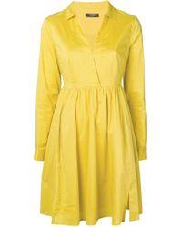 Twin Set Yellow Wrap Dress