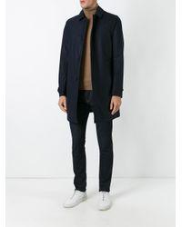 Aspesi Blue - Classic Padded Coat - Men - Polyamide/wool - Xxl for men