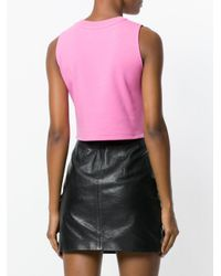 Moschino - Pink My Little Pony Crop Top - Lyst