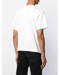 メンズ Balenciaga シグネチャー Tシャツ White