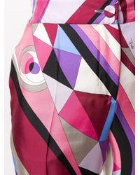 Emilio Pucci プリント ワイドパンツ Multicolor