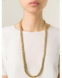 Aurelie Bidermann Metallic 'trancoso' Necklace