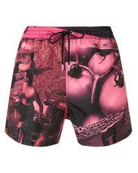 メンズ PS by Paul Smith ドローストリング ショーツ Pink