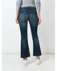 Citizens of Humanity - Blue Flared Jeans - Lyst