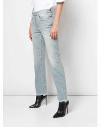 Jeans taglio straight di Givenchy in Blue