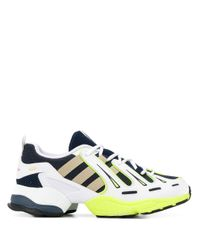 Adidas White Eqt Gazelle Mesh Trainers for men
