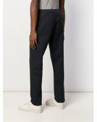 Pantaloni affusolati di Giorgio Armani in Blue da Uomo