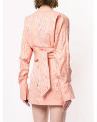 Manning Cartell クロップドブラウス Pink