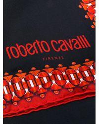 Roberto Cavalli フローラル スカーフ Multicolor