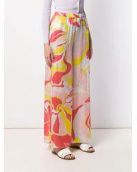 Emilio Pucci フローラル ワイドパンツ Multicolor