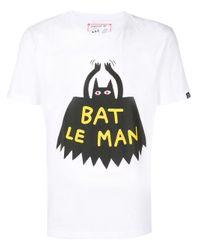T-shirt à imprimé graphique Hydrogen pour homme en coloris White