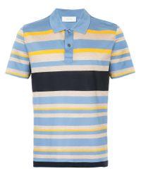 7754dd38 Lyst - Cerruti 1881 Multi-stripe Polo Shirt in Blue for Men