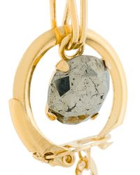 Wouters & Hendrix - Metallic Curiosities Keyring Pyrite Earrings - Lyst