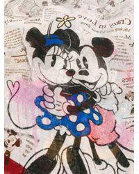 Faliero Sarti Minnie&mickey スカーフ Multicolor