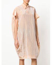Marni Multicolor Cocoon Shirt Dress