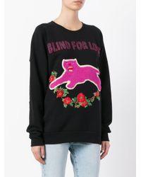 Gucci Black Blind For Love Sweatshirt
