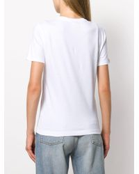 PS by Paul Smith White Dog Print T-shirt