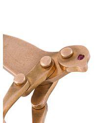 Marc Alary - Metallic 'monkey' Ruby Pendant - Lyst