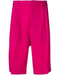 メンズ Valentino テーラード ショーツ Pink