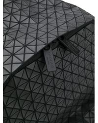 Zaino con motivo geometrico di Bao Bao Issey Miyake in Black