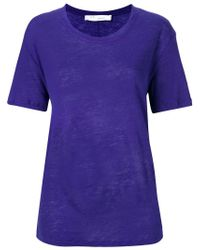 IRO Purple Relaxed Fit T-shirt