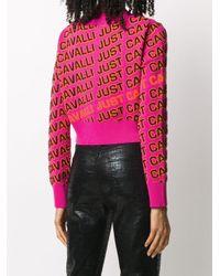 Just Cavalli クロップド セーター Pink
