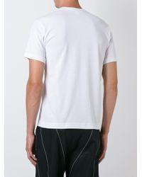 メンズ Comme des Garçons ラウンドネック Tシャツ Black