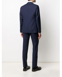 Tagliatore Blue Two-piece Virgin Wool Suit for men