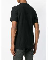 T-shirt classique DIESEL pour homme en coloris Black