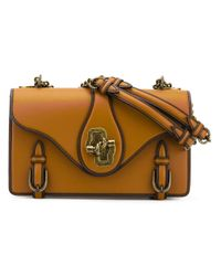 Bottega Veneta Brown City Knot Shoulder Bag