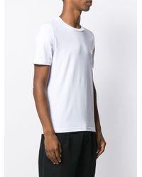 メンズ Love Moschino ロゴプレート Tシャツ White