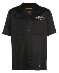 Camicia con ricamo di Neighborhood in Black da Uomo