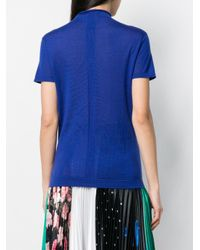 N.Peal Cashmere モックネックトップ Blue
