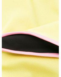 Bañador con ribete en contraste Gucci de color Yellow