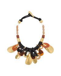 Lizzie Fortunato - Metallic Mollusk Necklace - Lyst