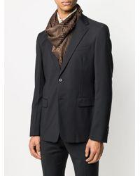 メンズ Fendi モノグラム ジャカードスカーフ Multicolor