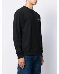 メンズ Etudes Studio ロゴ スウェットシャツ Black