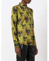 Philipp Plein Yellow Shawn Shirt