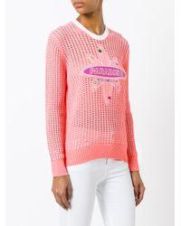 KENZO - Pink Paradise Jumper - Lyst
