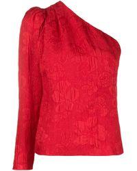 Top asimmetrico di Stella McCartney in Red