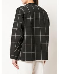 3.1 Phillip Lim チェック スウェットシャツ Black