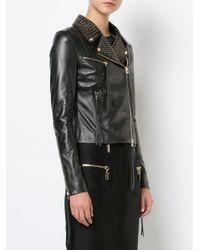 Thomas Wylde Black Laran Studded Jacket