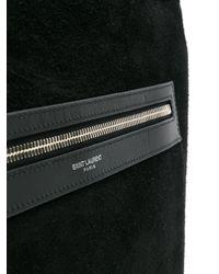 Классическая Сумка-шоппер Saint Laurent для него, цвет: Black