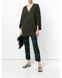 Tomas Maier Green Loose Fit Knitted Top