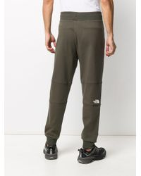 The North Face Green Logo Patch Track Pants for men