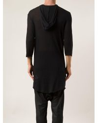メンズ Thom Krom Long T-shirt Black